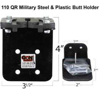 110 QR Military Grade Steel Gun Rack