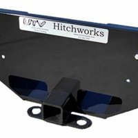 UTV Hitchworks (UTV-XSE) Skid Plate and Receiver Hitch Extension