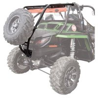 Tusk UTV Rear Bumper, Cargo Rack, and Spare Tire Carrier -Fits: Arctic Cat WILDCAT X 1000 2013-2014