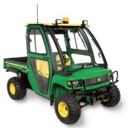 John Deere Gator HPX and XUV Optional Rear Panel (Upgrades Soft Sided Cab). Includes 12v Wiper Kit. Please Note: Factory roll bar must be removed prior to cab's installation. JDGHP-06