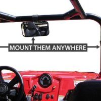Seizmik 18029 REAR VIEW MIRROR UTV
