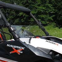 SuperATV Can-Am Maverick SUPER ATV SCRACTH RESISTANT Half Windshield #HWS-CA-MAV