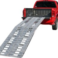 "Premium 144"" Heavy Duty Fold Ramps to load Motorcycles,ATV's,UTV's & Tractors (Pair)"