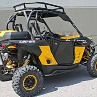 BlingStar Suicide Doors Can-Am Maverick Commander Black UTV-4006-14TXT