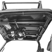 "UTV Overhead Gun Rack For John Deere Gator (4 Seat) Front Only | 28"" to 35"" front to back by Great Day"