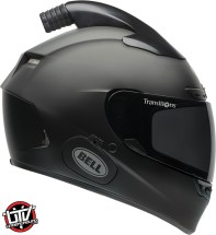 Bell qualifier dlx forced air side by side helmet matte black right