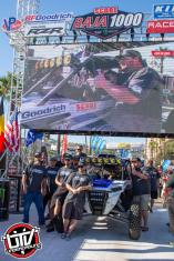 Jagged X Racing on contingency row at 2018 Baja 1000