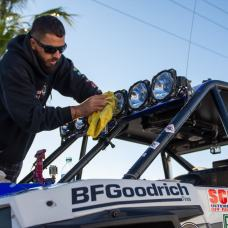 Jagged X Racing cleaning up KCHiLites at 2018 Baja 1000