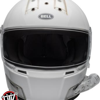 bell-eliminator-forced-air-side-by-side-helmet-gloss-white-front