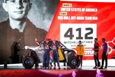#412 Guthrie Mitchell (usa), Floene Ola (nzl), OT3, Red Bull Offraod Team USA, SSV, action during the departure ceremony of the 2020 Dakar in Jeddah, Saudi Arabia on January 4, 2020 - Photo Julien Delfosse / DPPI