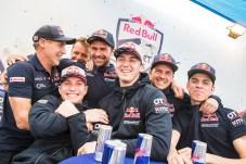 SSV Red-Bull Off-Road Team seen at the Red Bull Energy Station of Rally Dakar 2020 Djeddah, Saudi Arabia on January 04, 2020.