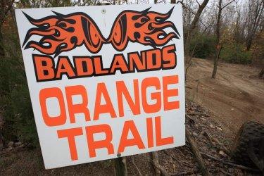 Orange Trail at Badlands Off-Road Park