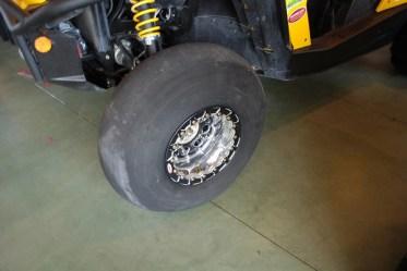 Fullerton Sand Sports Smoothie Front Tire  on OMF Beadlock Wheels