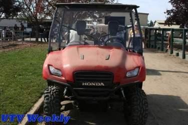 Honda Big Red at the at Murieta Equestrian Center