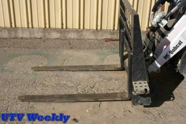 Bobcat Toolcat 5600 at the at Murieta Equestrian Center
