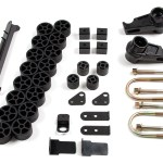 Zone Offroad Offers Chevy/GMC Colorado/Canyon 3.5″ Combo Lift Kit