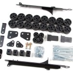 Zone Offroad Adds 2004-2012 Colorado/Canyon 1.5″ Body Lift Kit To It's Suspension Line