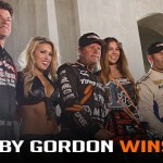 Robby Gordon Wins at Historic Los Angeles Memorial Coliseum
