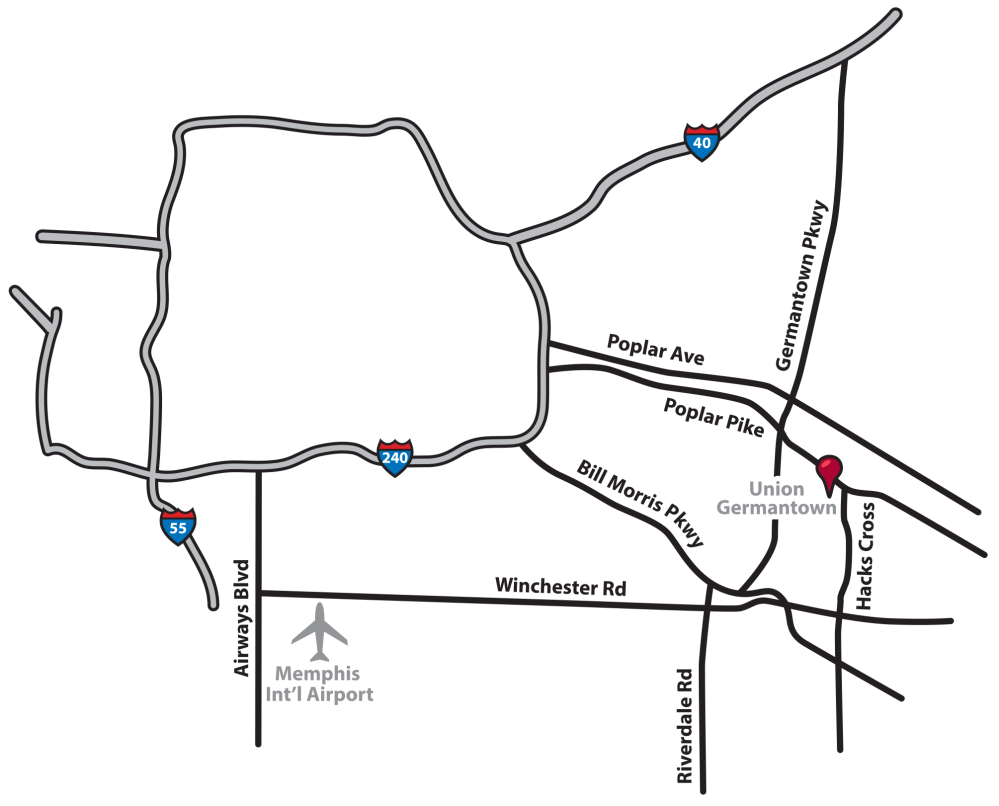 medium resolution of germantown campus map