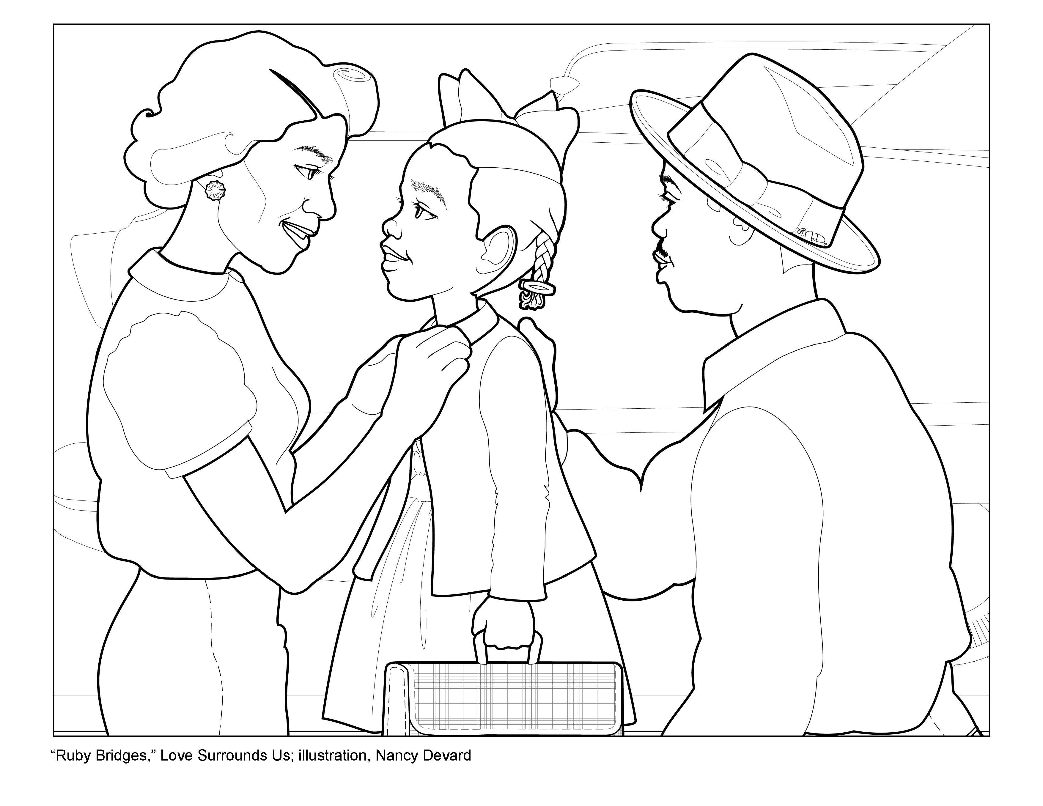 Activity 1 Story Ruby Bridges Surrounded By Love