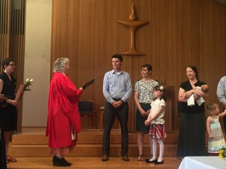 Child Dedication Ceremony, 2016