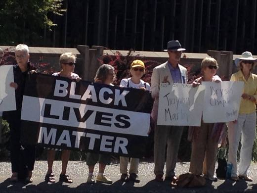 Black Lives matter Vigil