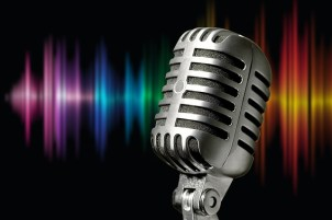microphone, old-fashioned
