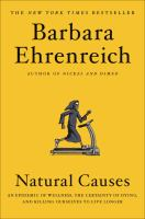 Cover of Barbara Ehrenreich's Natural Causes