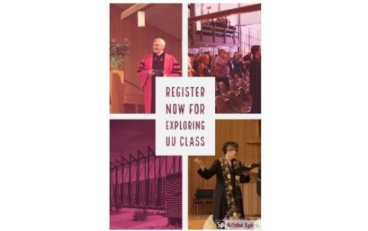 Register Now for Exploring UU Class