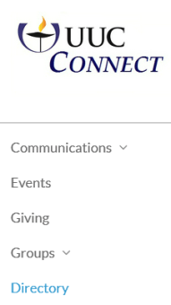 UUC Connect - Directory