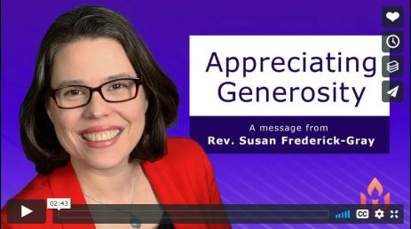 Image from Appreciating Generosity video