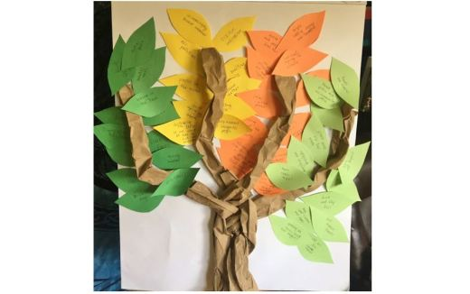 UUC RE art - Tree of Active Hope