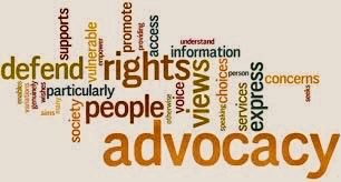 advocacy-defend-rights word cloud