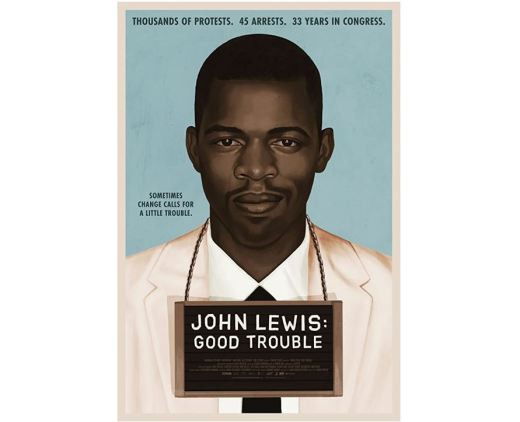 "Film poster for ""John Lewis: Good Trouble"""