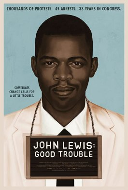 """Film poster for """"John Lewis: Good Trouble"""""""