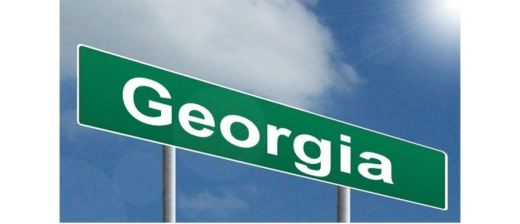 Highway sign: Georgia