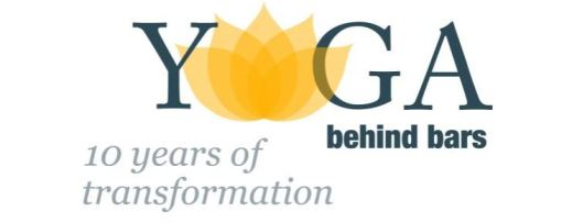 Logo: Yoga behind bars - 10 years of transformation