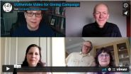 Opening shot of video: 2021 UUC Giving Campaign UUtheVote