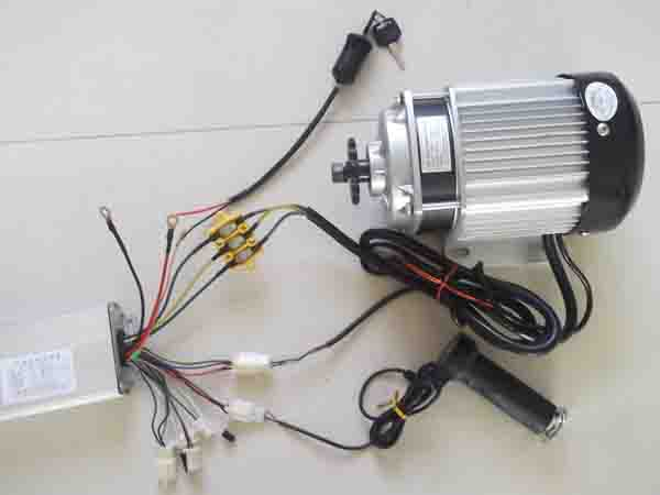 48v 750w electric brushless dc motor for electric trike - UU ...  Wire Dc Motor Wiring Diagram Electric on