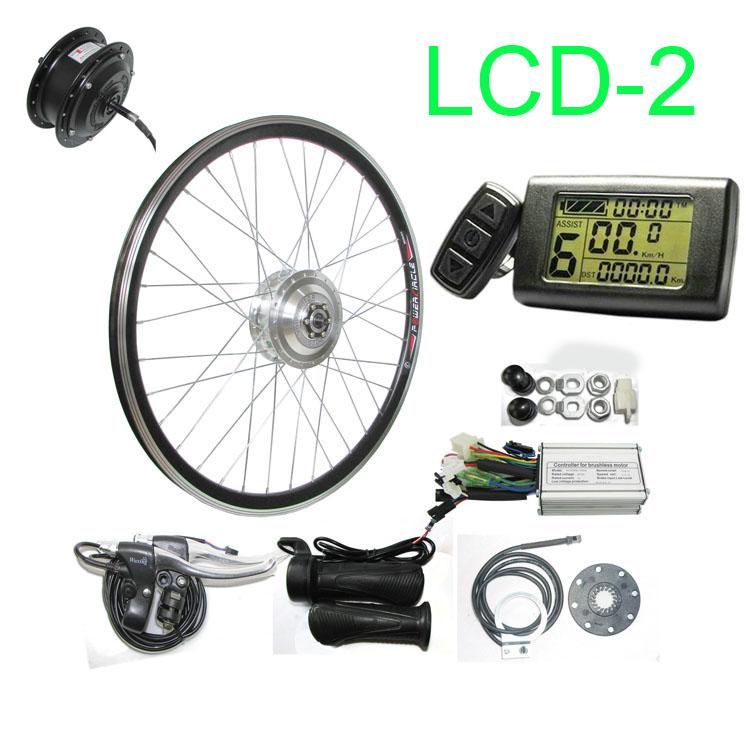 250W 12V Electric Bike Conversion Kit Refit Motor 20-28/'/' RearController DIY Hub