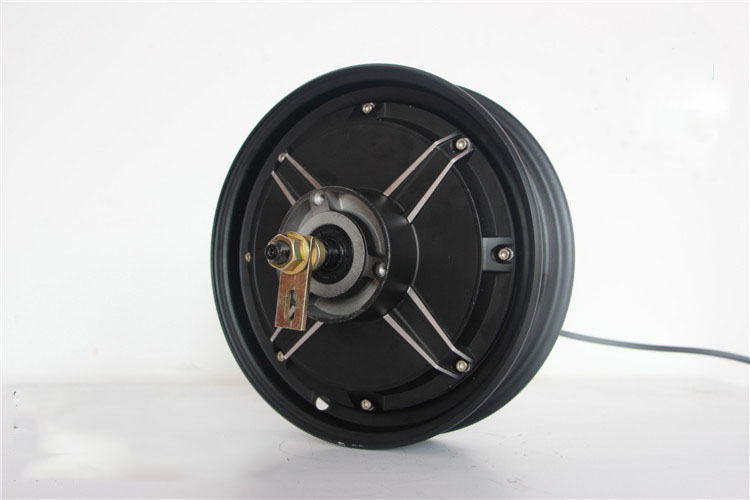 10 inch electric motorcycle hub motor 800w to 4000w - UU Motor