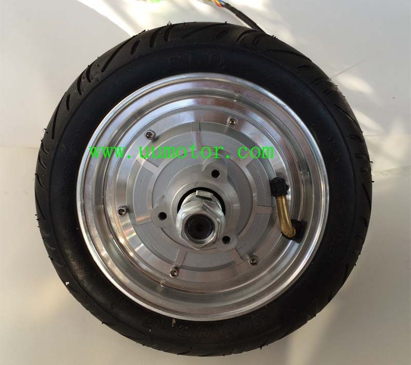 9 inch electric scooter hub motor tubless air tyre - UU Motor