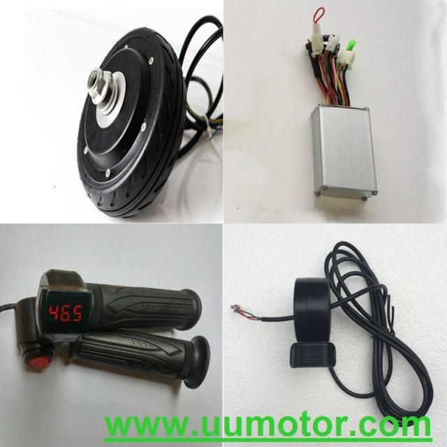 5 inch hub motor DIY electric scooter kit - UU Motor