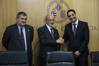 Ricard Martínez, Esteban Morcillo, Oscar Sanz