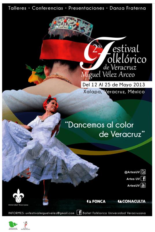 Convocatoria Segundo Festival Folklrico de Veracruz