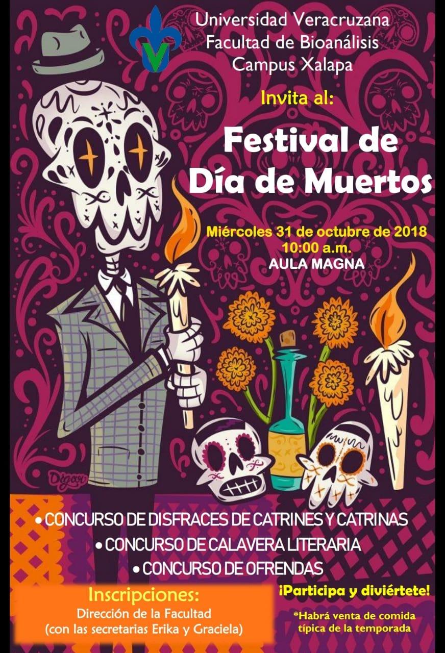 Da de Muertos  Facultad de Bioanlisis  Xalapa