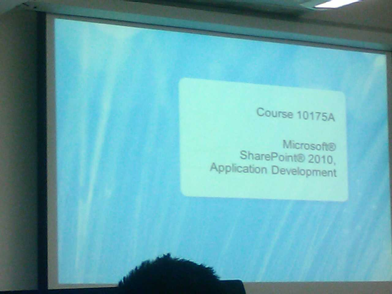 Curso 10175 Microsoft SharePoint 2010 Application