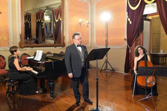 Concierto en el Casino Xalapeño, 30 años de carrera artística