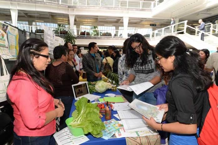El público se interesó en las actividades sustentables