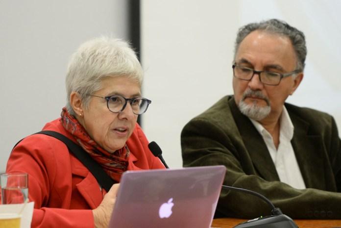Alicia de Alba Ceballos y Édgar González Gaudiano
